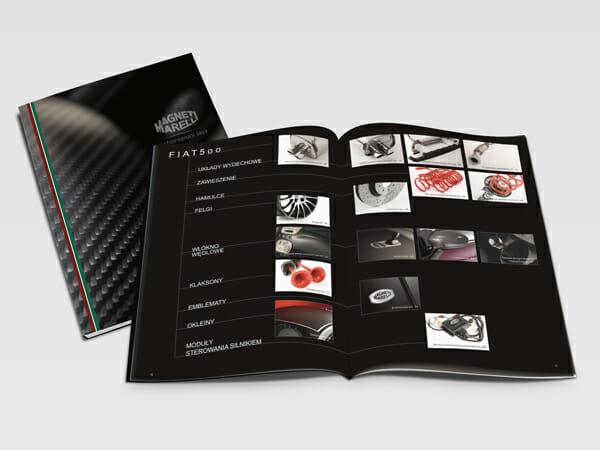 Projekt katalogu Magneti Marelli