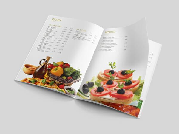 Projekt menu Kuchnia Italia