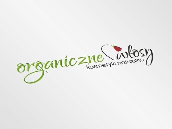 Projekt logotypu Organiczne włosy