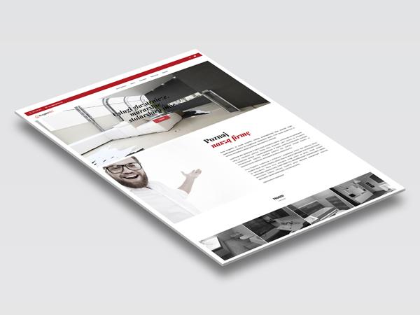 Strona internetowa i logotyp ProjektPro