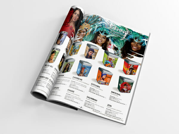 Projekt katalogu Tearebels