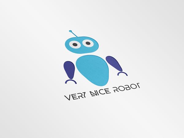Projekt logotypu dla Very Nice Robot