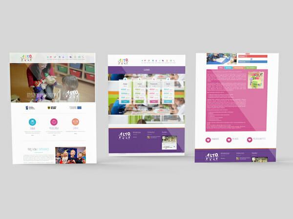 Strona internetowa dla przedszkola Alto