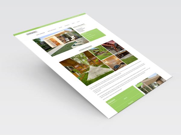 Strona internetowa woodengarden