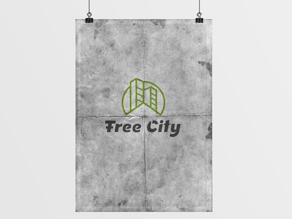 Projekt logotypu dla Free City